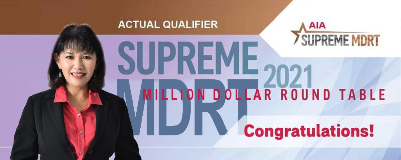 Supreme MDRT 2021 – Jecilyn Lim