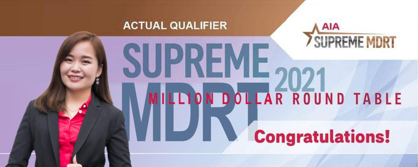 Supreme MDRT 2021 – Tania Amy Hardin