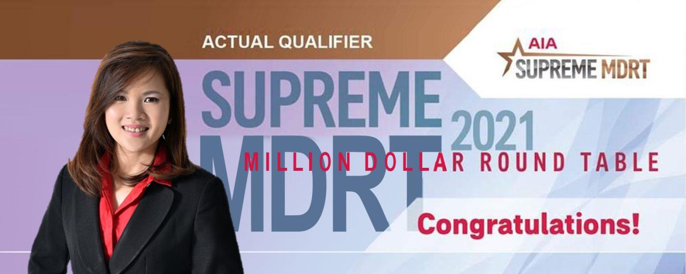 Supreme MDRT 2021 – Wendy Lim Poh Lean