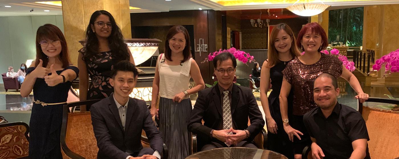 Celebration Dinner at Shangri La Hotel