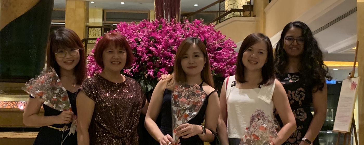 Celebration Dinner at Shangri-La Hotel